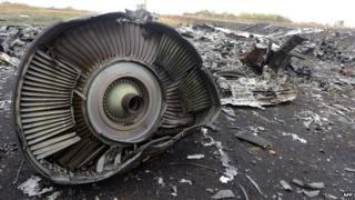 Debris from MH17, 9 Sept 14