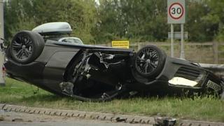 A6 crash, Bedfordshire