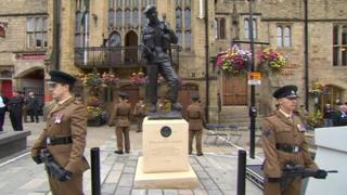 Memorial to the Durham Light Infantry
