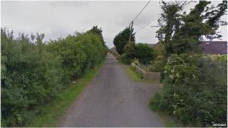 The woman was attacked between Invicta Road (pictured) and Bellevue Road.