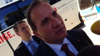 Social Democrat leader Stefan Lofven