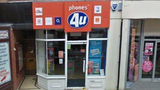 Phones 4U in Bangor