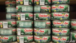 'Chicken of the Sea' canned tuna brand