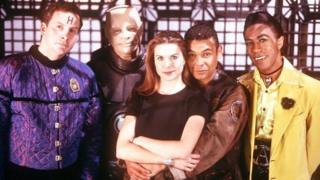 The red Dwarf cast