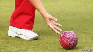 Bowls ball
