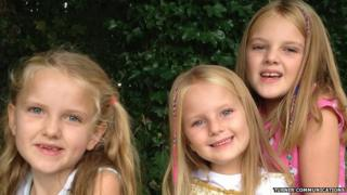 Tilly, Lucy-Anna and Tia Lockey