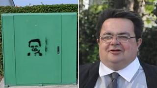 John Gollop graffiti