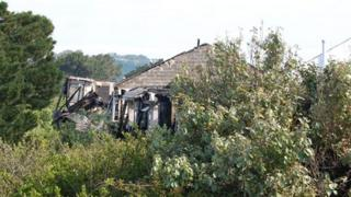 Idlerocks Hotel damaged by a second fire