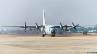 Hercules plane