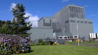 Hunterston B nuclear plant