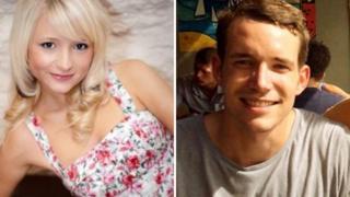 Hannah Witheridge and David Miller