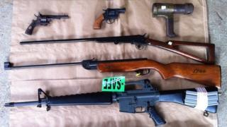 Some of the guns recovered in the amnesty