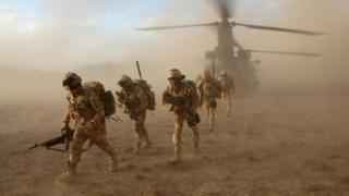 Soldiers of the Black Watch in Afghanistan