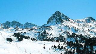 St Anton in the Austrian Alps. File photo