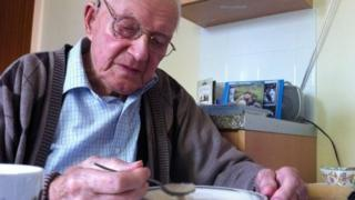95-year-old Cyril Gillam from Lincolnshire