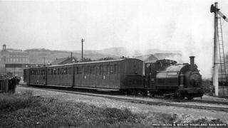 Palmerston steam engine in 1913