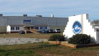 Peanut Corp of America plant in Blakely, Georgia file image from 2009