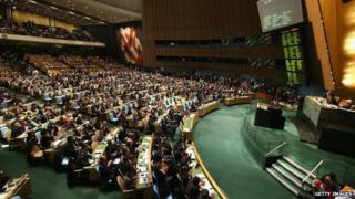 UN General Assembly (file picture)