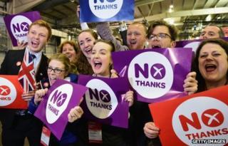 Jubilant No campaigners
