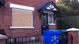 The gang threw a bin at a house occupied by Hungarian residents in Hesketh Park