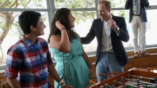 Prince William in Malta