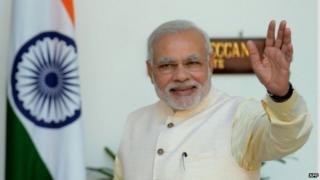 """Mr Modi has promised to inject """"fresh investments"""" into India's economy"""