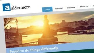 Aldermore website (screen grab)
