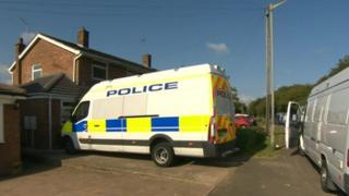 Munitions raid at house in Newport Pagnell