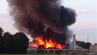 Wednesfield fire