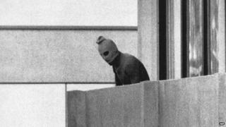 A Palestinian militant from Black September in 1972 Munich 5 September 1972