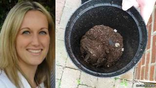 Helen Dodman and her toad