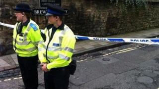 Brewer Street crime scene