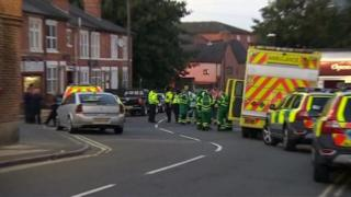 Emergency services in Nuns Street