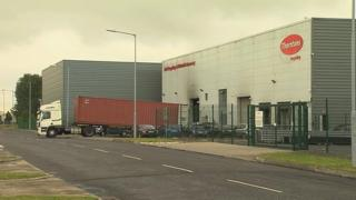 Human remains were found at the Dublin plant in July