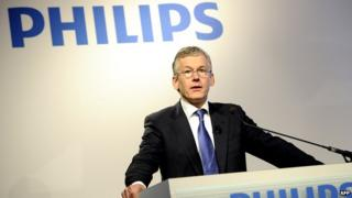 Philips chief executive Frans van Houten