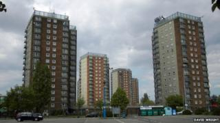 High Rise Flats, East Marsh, Grimsby