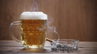 Beer and alcohol