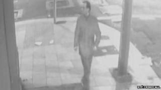 CCTV footage of man police want to speak to in connection with stabbing of Jonny Cooper