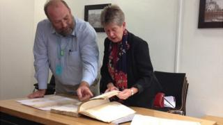 Jane Hutt examines old tax documents