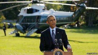 President Obama makes a speech about the fight against IS