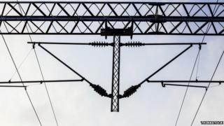 overhead rail lines (generic)