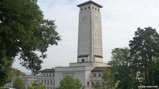 Newport civic centre