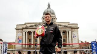 Carl Froch in Old Market Square
