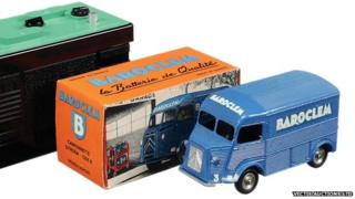 "French Dinky No.561 Citroen type H Van ""Baroclem"""
