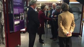 The Princess Royal at the Soldiers of Oxfordshire Museum