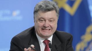 Ukrainian President Petro Poroshenko. Photo: 25 September 2014