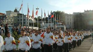 Guernsey team at the 2003 Island Games held in Guernsey