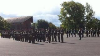 23 Pioneer regiment's farewell parade