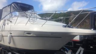 The boat seized in Pwllheli