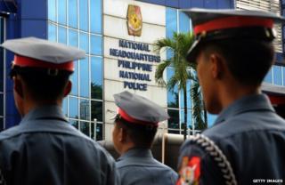 Filipino police